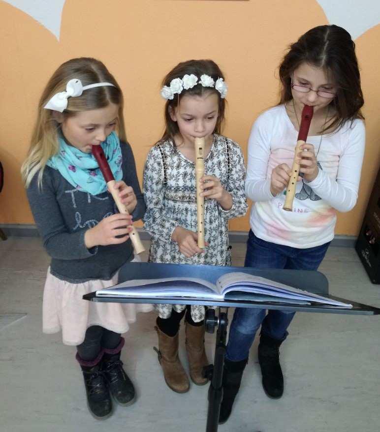 Blockflötenunterricht